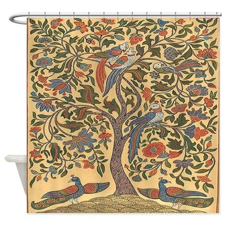 Celtic Tree Of Life Shower Curtain By Tisnancy In 2020 Tree Of