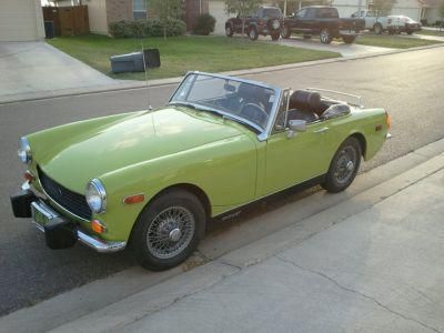 Convertible mg midget top