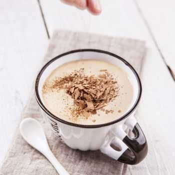 Thermomix Recipe Frothy Coconut Chocolate Punch Tenina Com Thermomix Recipes Chocolate Coconut Recipes