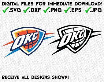 Oklahoma City Thunder Svg Logo 5 File Formats Svg Dxf Png Eps