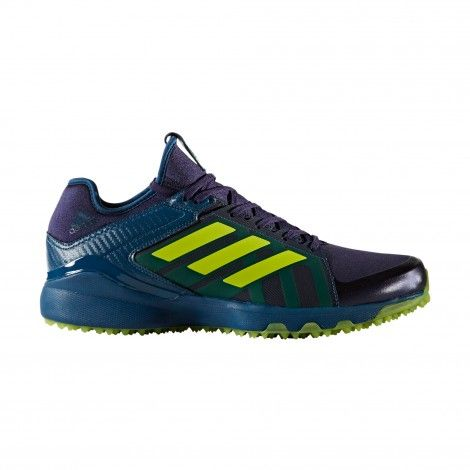 adidas Hockey Lux BY2532 hockeyschoenen noble ink - Gele ...