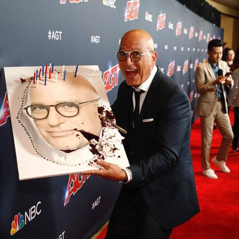 """America's Got Talent - AGT on Instagram: """"@howiemandel just took a DNA test, turns out he's 100% THAT cake. #AGTResults 🎂"""""""