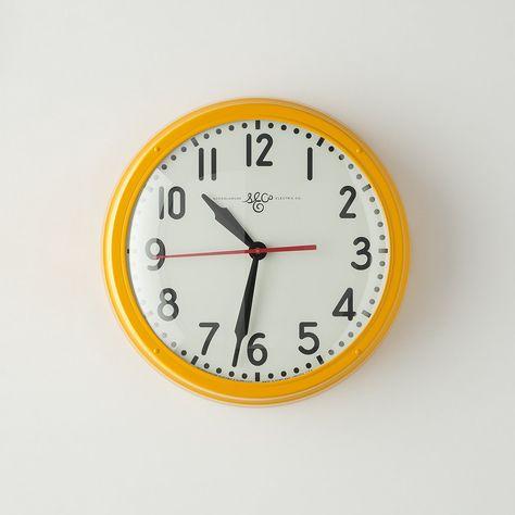 Escape The Croft Farm Electric Clock Clock Schoolhouse Electric