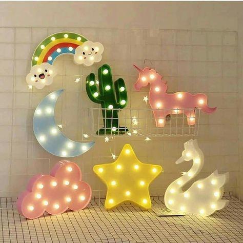 Shop New trendy Cute Led Lamps Board online at mana.pk 1199