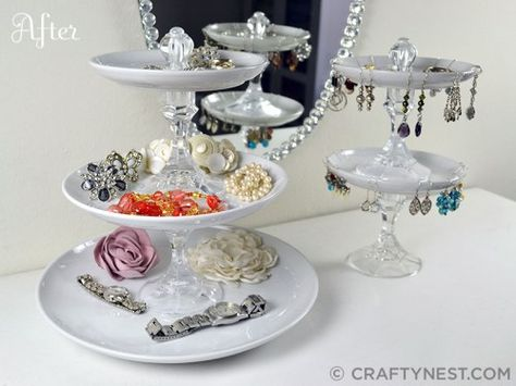 Tiered Jewelry Trays