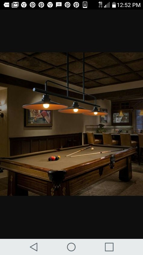 20 awesome pool table lighting ideas for the house pinterest 20 awesome pool table lighting ideas for the house pinterest awesome pools pool table and basements keyboard keysfo Image collections