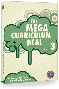 MEGA CURRICULUM DEAL 3 Volumes 11, 12, 13, 14, and 15 for $400!!!