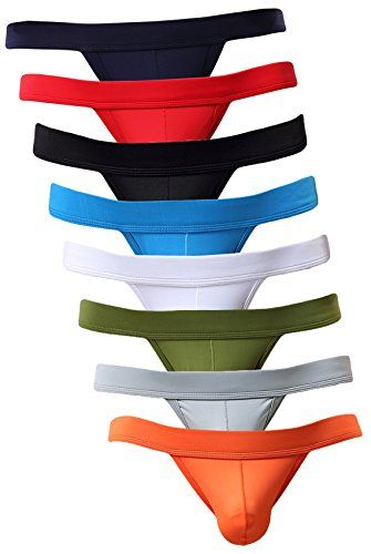 68b9d0002cc New NEIKU Men's Sexy Briefs Seamless Thongs Breathable Underwear ...