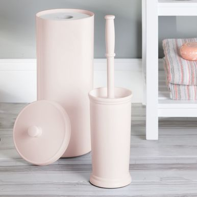 Plastic Compact Toilet Bowl Brush Holder Toilet Bowl Toilet