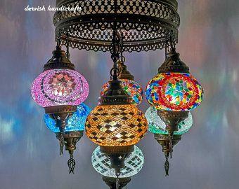 Gratis Schip Turkse Lamp Opknoping Lamp Plafond Verlichting Kroonluchter Verlichting Turkse Lampen Lampen Lampen Plafond