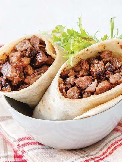 Fleisch Wrap Rezept Turkische Kuche Rezepte Yemek Yemek
