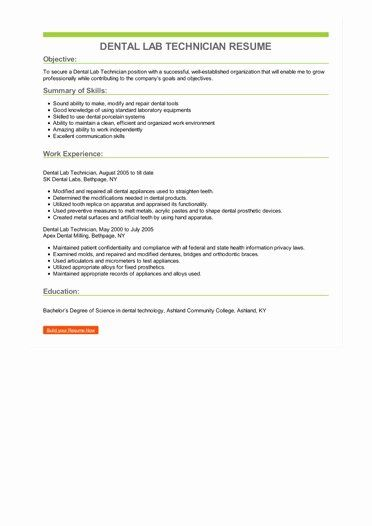 Lab Assistant Job Description Resume Fresh Dental Lab Technician Resume Assistant Jobs Job Resume Examples Lab Technician