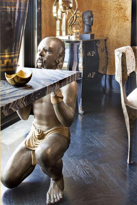 KELLY WEARSTLER | INTERIORS. Bellagio Residence, Living Room Details