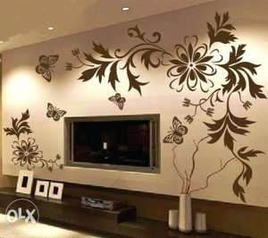 Wall Painting Designs For Living Room Wall Paint Designs Wall Painting Living Room Diy Wall Painting