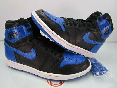 2017 Nike Air Jordan 1 Nike Retro High Og Royal Blue 2017 Nike Air Jordan I 1 Retro High Og Royal 9 In 2020 Air Jordans Retro Air Jordans Nike Air Jordan