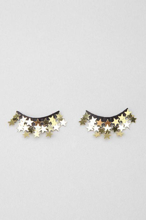 Starry false eyelashes ❤
