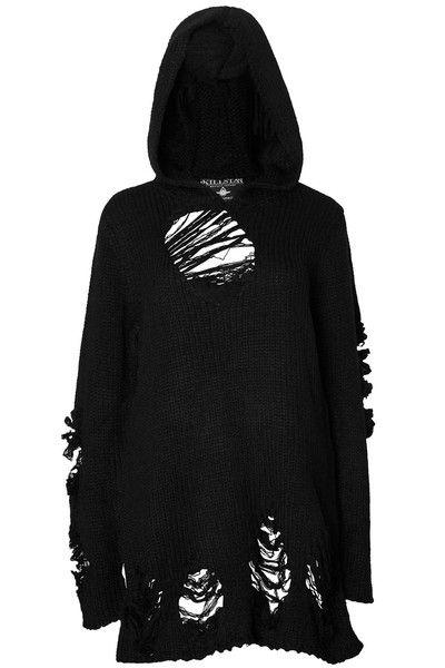 Nu-War Knit Hoodie [B]