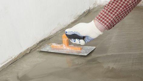 Pose De Carrelage Sur Chape Maigre In 2020 Sanding Concrete Floors Concrete Floors Flooring
