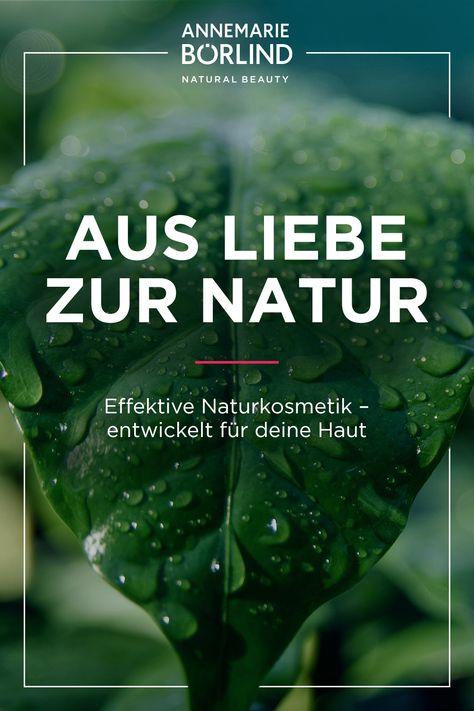 Inspiriert von der Natur. Entwickelt für deine Haut.