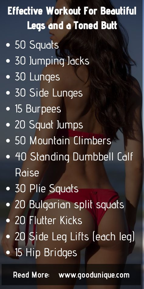 butt workout, toned butt workout, legs and butt workout, Exercises For Beautiful Legs and a Toned Butt.