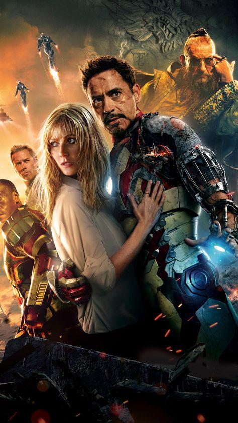 Iron Man 3 (2013) Phone Wallpaper   Moviemania