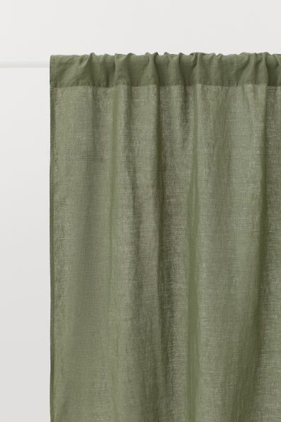 2 Pack Linen Curtain Panels Linen Curtain Panels Linen Curtains
