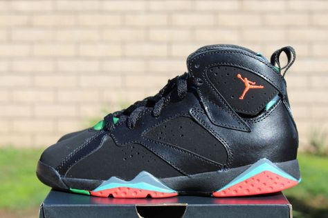 Air Jordan 7 Retro Bp Marvin The Martian Detailed Preview Pics