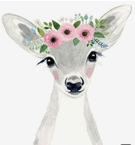 #wallpapers #wallpapersforgirls #Gazelle #animals #art #paint 🌸🦋🎀💞