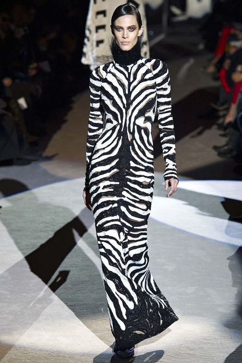 Leopard Changing Its Spots? Meet the New Animal Print We Can't Get Enough Of: Tom Ford Fall 2013