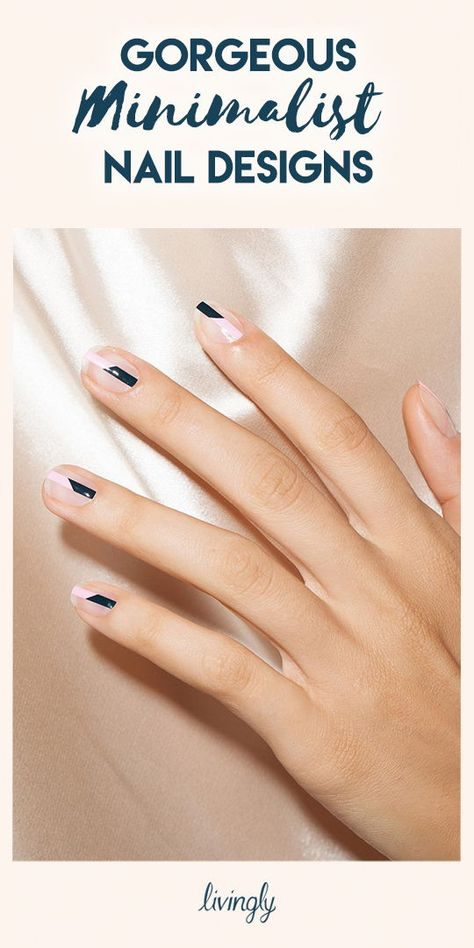 Don't think that just because these manis are minimal they're boring or plain, in fact, it's quite the opposite. These nail designs are unique and eye-catching, in the most perfectly subtle way.