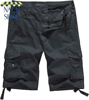 Sponsored Ebay Wenven Men S Cotton Twill Cargo Shorts Outdoor Wear Regular Big Tall Sizes Outdoor Wear Cargo Shorts Cotton Twill