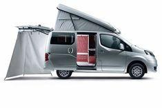 Nissan Nv200 Evalia Stadtindianer Kompaktes Reisemobil In 2020 Nissan Lieferwagen Camper Camper Ideen