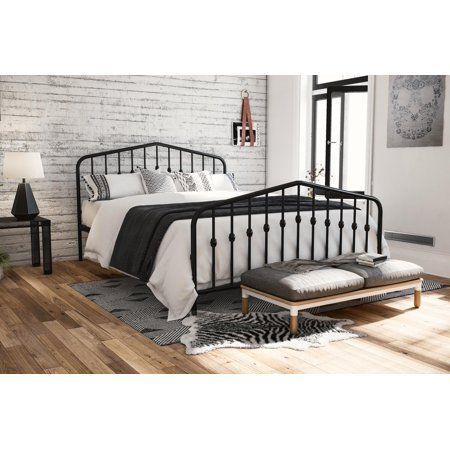Home King Metal Bed Queen Metal Bed Metal Platform Bed