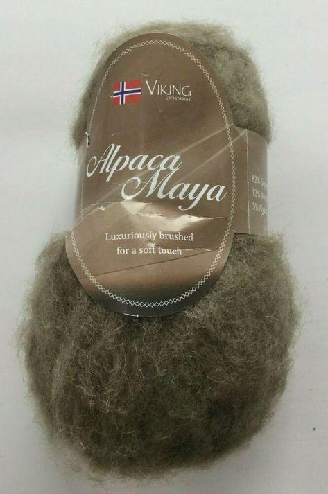 Viking Of Norway Alpaca Wool Superfine Yarn 50g 174 Yds Beige 730 New Skein Vikingofnorway In 2020 Alpaca Wool Yarn Alpaca