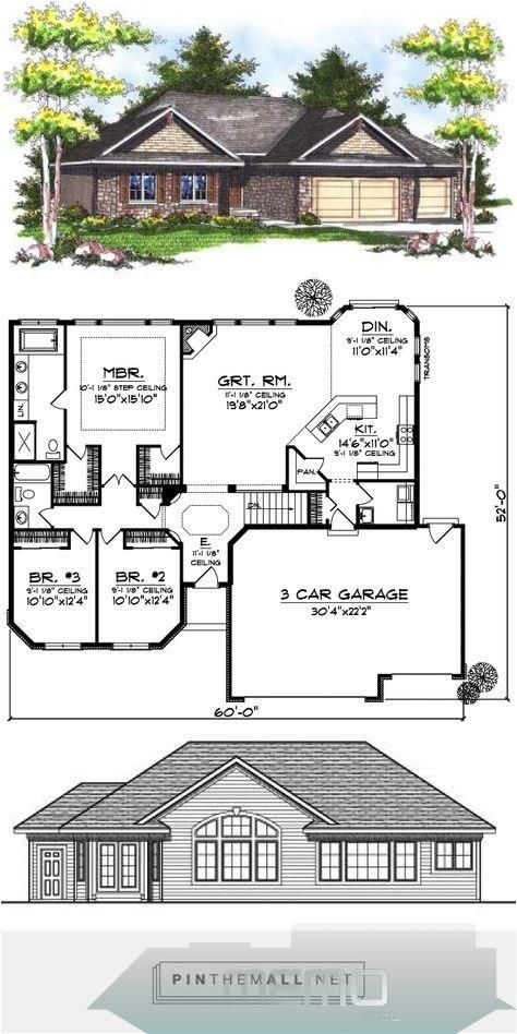 May 26 2018 Ranch Style House Plans Plan 7 731 Created Via Https Pinthemall Net Dreamhousek In 2020 Ranch House Floor Plans Ranch House Plans Diy House Plans