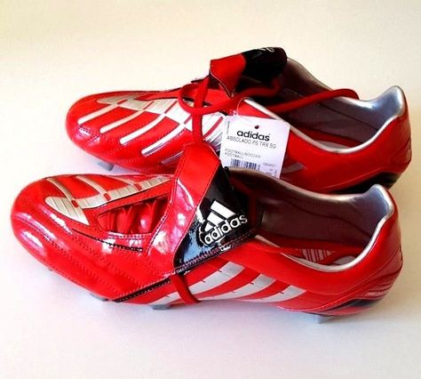 Adidas Predator Absolado Football TRX SG Soccer Boots Red
