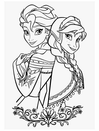 Updated 101 Frozen Coloring Pages Frozen 2 Coloring Pages In 2020 Elsa Coloring Pages Cartoon Coloring Pages Disney Coloring Pages