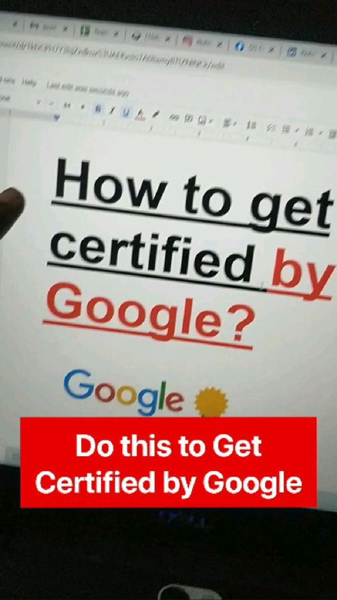 How to Get Certified by Google 🚀