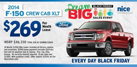 Ford F150 Black Friday 2014 Deals Sioux Falls Lease Deals Ford