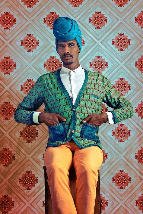 Joel Adama Gueye taken by Omar Victor Diop at Le Studio des Vanites. Okayafrica.