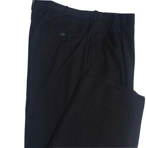Austin Reed Mens Dress Slack Pants Black Size 36 X 32 London Reed Lined Ebay Mens Dress Slacks Men Dress Slack Pants