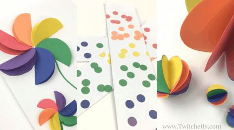 51 easy construction paper crafts. Kid approved and amazing.