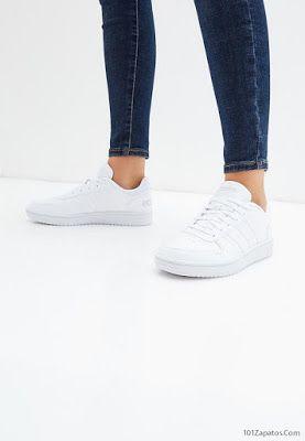 Ardilla Desgastado gastos generales  Zapatillas Adidas blancas   Zapatillas blancas mujer, Zapatillas adidas  blancas, Zapatillas adidas