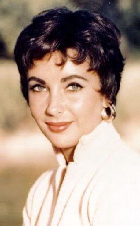 Elizabeth Taylor 1950s Hairstyles Short Hair Styles Elizabeth Taylor
