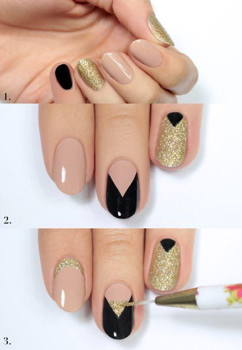 Nude Nägel sind ganz leicht selber zu machen! Ideen und