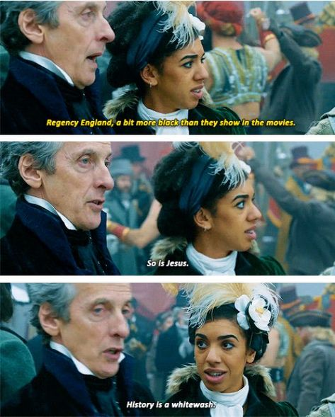 The Doctor calling out whitewashing Doctor Who 12, Doctor Who Funny, Doctor Who Quotes, 12th Doctor, Dr Who, Twelfth Doctor, Don't Blink, News Health, Torchwood