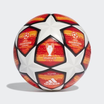UCL Finale Madrid Top Training Ball White Mens   Soccer ball