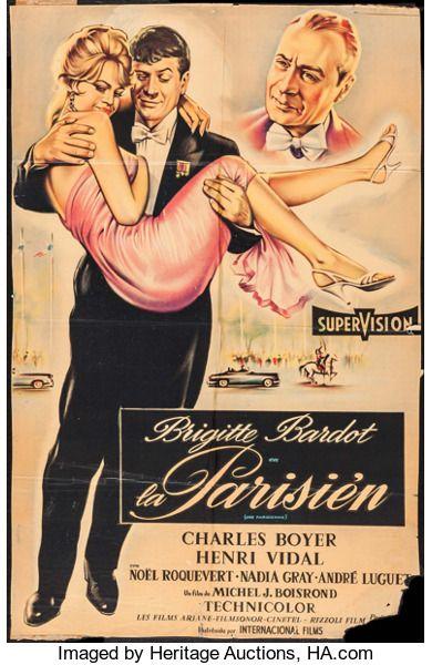 Movie Posters:Foreign, La Parisienne (United Artists, 1958