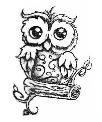 Owl Tattoo Designs Cute Owl Drawing Owl Tattoo Design Owl Tattoo