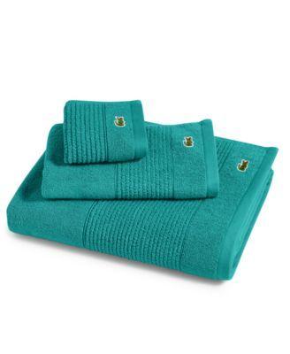 Lacoste Legend 30 X 54 Supima Cotton Bath Towel Sold Individually Reviews Home Macy S En 2020 Disenos De Unas